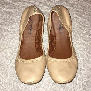 Lucky Brand Tan Flats - 8.5
